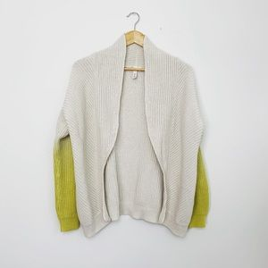 Anthropologie Sweaters - Anthropologie Ivory Ombré Knit Cardigan